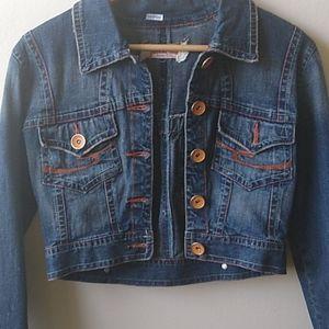 Cropped Jeans Denim Jacket